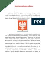 O Brasão e a Bandeira Nacional Da Polônia