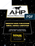 AHP Awards Program 2016