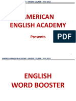 English Word Booster by VS.ppt