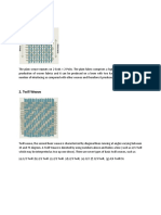 Basic Weave & Paper Weave
