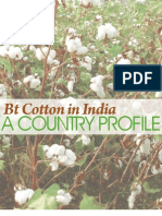 Bt Cotton in India-A Country Profile