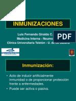 Inmunizaciones MI I JUL 06