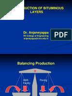 Construction of Bituminous Layers BBMP