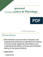 11 Biomechanics Physiology Ho