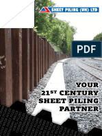 Sheet Piling Uk Limited Brochure