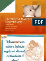 Lactancia Materna en Mostrenco