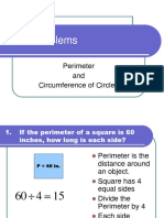 6. WP Perimeter and Circum of Circles