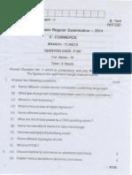 BPUT question paper