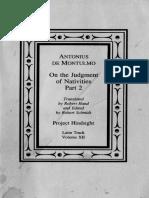 Antonius de Montulmo - On the Judgement of Nativities, Part 2.pdf