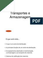 Operações II Transporte e Armazenagem 2