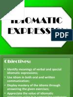 Idiomatic Expression