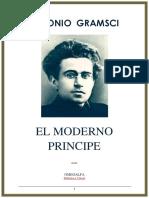 Gramsci Antonio. El Moderno Principe