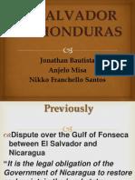 PP El Salvador and Honduras