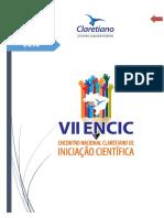 VII ENCIC Orientaes Gerais Para Elaborao de Trabalhos 2