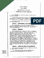 Resolution 5 of 1995 - Conservation Advisory Commission, City of Beacon, NY