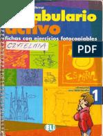 A1-A2 - Vocabulario Activo 1 %28Fichas Con Ejercicios%29 %28ELI%29 %2860 Unidades-80 Pag%29