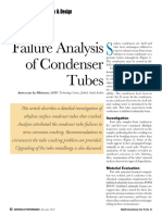 Failure Analysis of Condenser Tubes - MP Dec. 2012