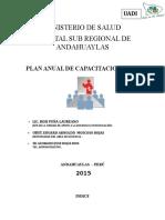 Plan Anual de Capacitacion 2015.Docx 1