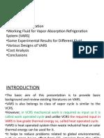 Refrigration System
