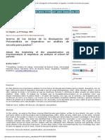 Acerca de Los Inicios de La Divulgación Del Psicoanálisis en Argentina_ Un Análisis de Escuela Para Padres
