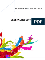 General Resources pages.ppt