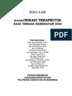 MODUL KOMUNIKASI TERAPEUTIK BAGI TENAGA KESEHATAN GIGI.pdf