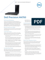 Dell Precision m4700 Spec Sheet