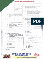 Upsc Prelims 2017 Paper Gs Set b