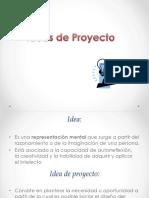 2. Idea de Un Proyecto