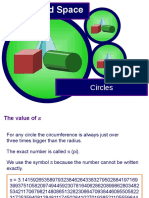 Circumference and Area of a Circle Ppt 1t29xcm