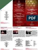 Folleto Festival de Alarcos 2017 Generico