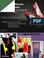 Corporate PR Team PDF coca cola
