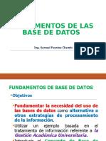 001. Fundamentos de Las Bases de Datos
