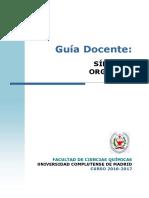 GQ Guia Docente Sintesis Organica 2016 FINAL