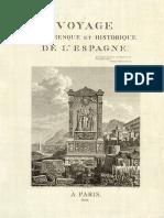 Voyage pittoresque et historique de l'Espagne (EXTREMADURA) par Alexandre de Laborde (1806-1820)