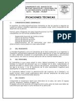 Especificaciones Tecnicas 16-01-2015