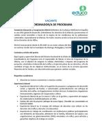 Anuncio Prensa Coordinador-A de Programa_NI
