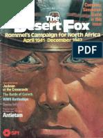 [Wargame-simulation]SPI - Strategy & Tactics 087 - The Desert Fox
