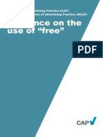 Guidance Use of Free