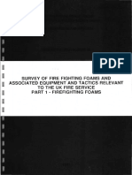 40.1991.01 Survey of Fire Fighting Foams and Associated Equi