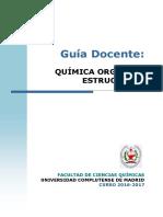 GQ_Guia Docente Quimica Organica Estructural_2016_FINAL