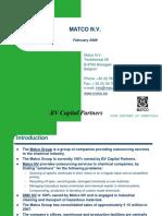 Brochure Mat Co
