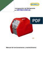 Manual VRR12L