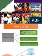 GRADACIÓN CULTURAL
