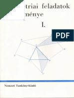 Horvay Geometriai Feladatok Gyűjteménye 1.