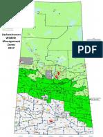 Zones de chasse et de trappe en Saskatchewan (en anglais seulement)