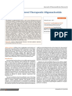Aptamer a Novel Therapeutic Oligonucleotide