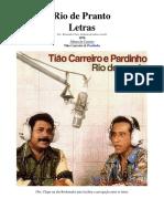 Tião Carreiro & Pardinho - Letras - 29 - Rio de Pranto - 1976