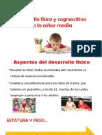 Desarrollo Físico y Cognoscitivo en La Niñez Media