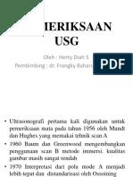 Pemeriksaan USG Fix